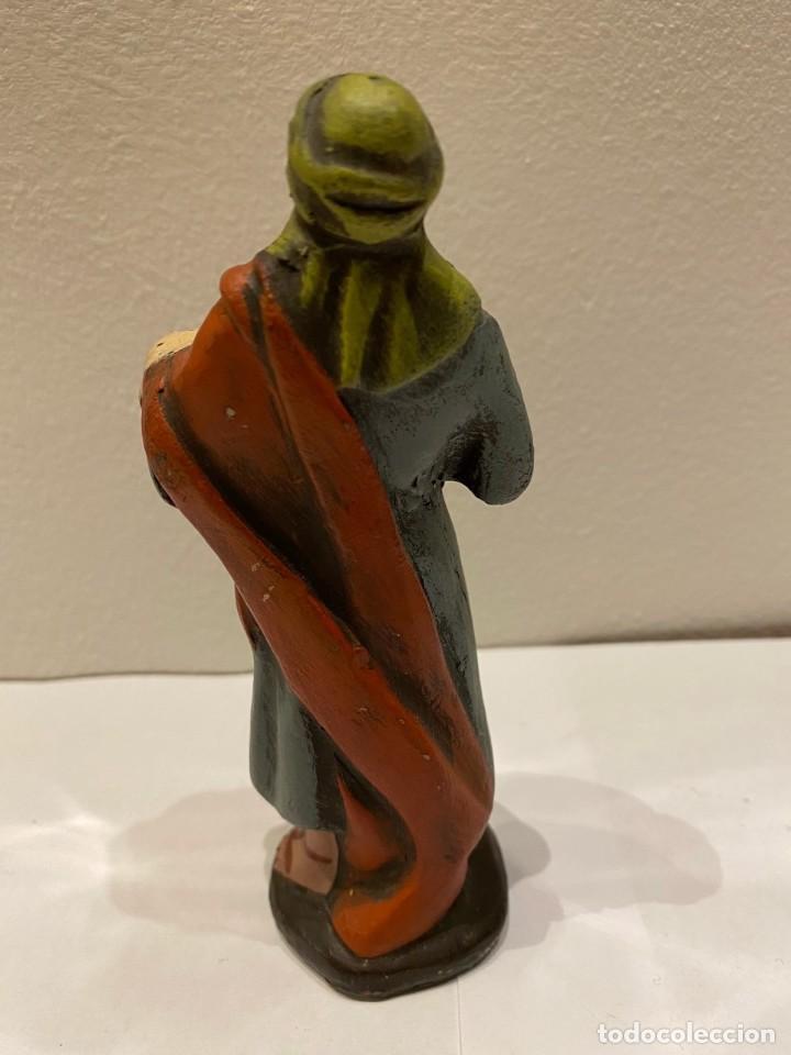 Figuras de Belén: figura de belén antigua ,pastora, Murcia - Foto 2 - 236990165