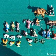 Figuras de Presépios: PASTORES PLÁSTICO. Lote 238597665