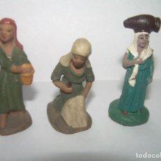 Statuine di Presepe: ANTIGUA FIGURA DE TERRACOTA.....MUY PEQUEÑAS..3 CM.. Lote 245198715