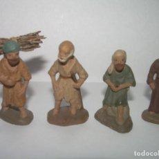 Statuine di Presepe: ANTIGUA FIGURA DE TERRACOTA.....MUY PEQUEÑAS..3,50 CM.. Lote 245199330