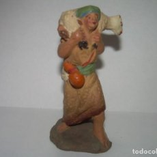 Figuras de Belén: ANTIGUA FIGURA DE TERRACOTA.. Lote 246660520
