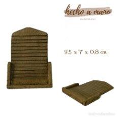Figuras de Belén: TABLA DE LAVAR EN MADERA MINIATURA BELÉN NAPOLITANO PRESEPE NAPOLETANO ATREZZO. Lote 246787910