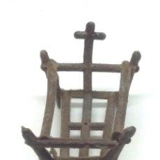 Figuras de Belén: FIGURA BELEN PLASTICO PECH OLIVER MIRETE CABEZONES CABEZUDOS NIÑO JESUS NACIMIENTO PORTAL BELEN. Lote 249486270