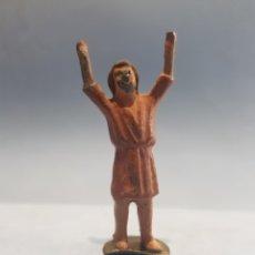 Figuras de Presépios: FIGURA DE BELEN ,PLOMO ,ANTIGUA 4CM. Lote 252640345