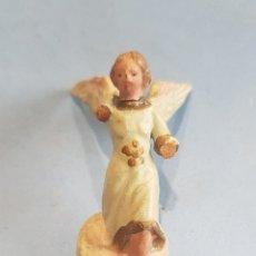 Figuras de Belén: FIGURA DE BELEN, ÁNGEL PEQUEÑO, BARRO , PARA.RESTAURAR. Lote 252656505
