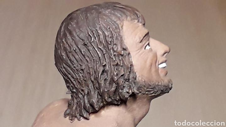 Figuras de Belén: Figura de Belén Pesebre, barro terracota, serie 17 cms. Daniel José Ursueguia. Sin firma. - Foto 2 - 252944310