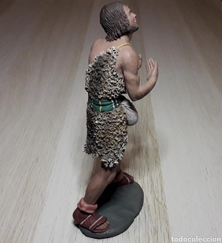 Figuras de Belén: Figura de Belén Pesebre, barro terracota, serie 17 cms. Daniel José Ursueguia. Sin firma. - Foto 8 - 252944310