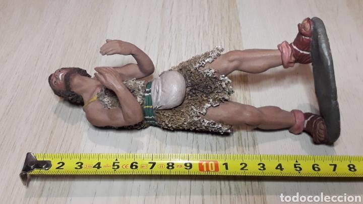 Figuras de Belén: Figura de Belén Pesebre, barro terracota, serie 17 cms. Daniel José Ursueguia. Sin firma. - Foto 9 - 252944310