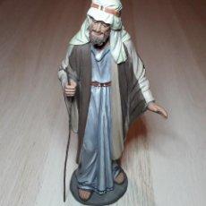 Figuras de Presépios: FIGURA DE BELÉN PESEBRE, BARRO TERRACOTA, SERIE 17 CMS. DANIEL JOSÉ URSUEGUIA. SIN FIRMA.. Lote 253040845