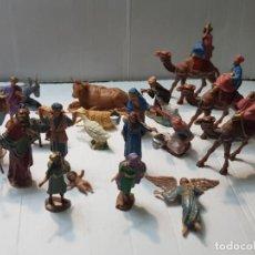 Figuras de Belén: FIGURAS BELEN LOTE 24 REAMSA,GOMARSA BASTANTE COMPLETO INCLUYE REYES MAGOS. Lote 253776475