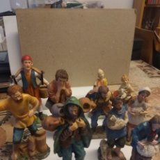 Figuras de Belén: LOTE 10 FIGURAS PESEBRE. Lote 254168020