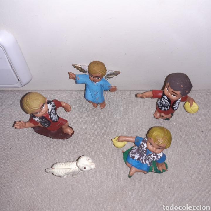Figuras de Belén: Figuras de belén Anunciación cabezones - Foto 4 - 258744890