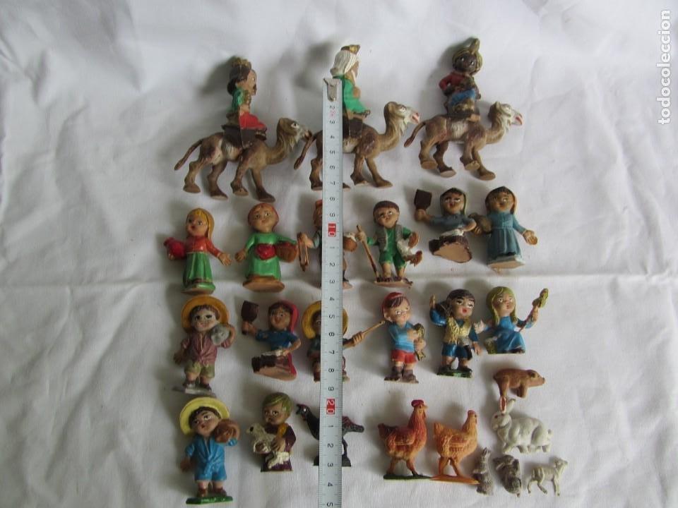 Figuras de Belén: Conjunto de figuras de belén de plastico - Foto 4 - 262595160