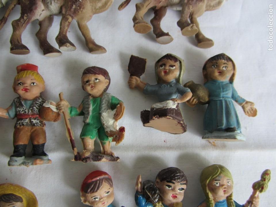 Figuras de Belén: Conjunto de figuras de belén de plastico - Foto 7 - 262595160