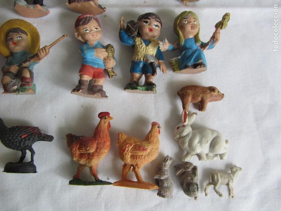 Figuras de Belén: Conjunto de figuras de belén de plastico - Foto 9 - 262595160