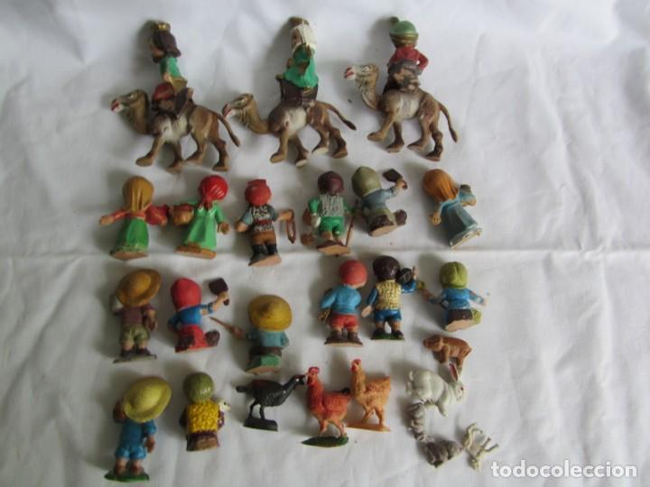 Figuras de Belén: Conjunto de figuras de belén de plastico - Foto 10 - 262595160