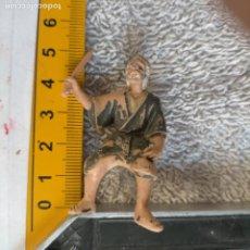 Figuras de Belén: HAGA SU OFERTA , ANTIGUA FIGURA PARA PORTAL DE BELEN NACIMIENTO NAVIDAD FIGURA PLASTICO DURO. Lote 263667420