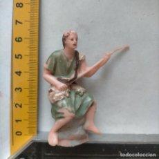 Figuras de Belén: FIGURA PARA PORTAL DE BELEN PLASTICO DURO , PECH O SIMILAR - OFERTAS POR LOTES. Lote 269215983