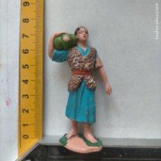 Figuras de Belén: FIGURA PARA PORTAL DE BELEN PLASTICO DURO , PECH O SIMILAR - OFERTAS POR LOTES. Lote 269216003