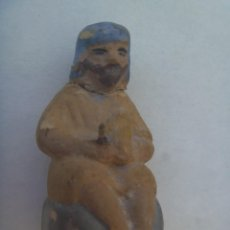 Figuras de Belén: ANTIGUA FIGURA DE TERRACOTA DEL BELEN : PASTOR. Lote 271909673