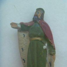 Figuras de Belén: ANTIGUA FIGURA DE TERRACOTA DEL BELEN : REY HERODES. Lote 272007618