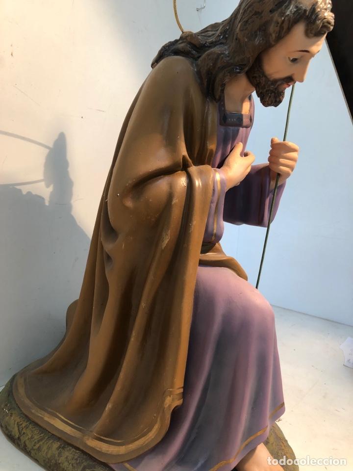 Figuras de Belén: FIGURA BELEN, MISTERIO DE ESTUCO SERIE 60/70 OLOT. MUY GRANDE. - Foto 23 - 274582438