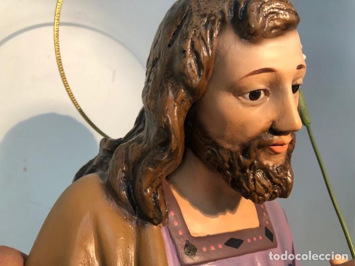 Figuras de Belén: FIGURA BELEN, MISTERIO DE ESTUCO SERIE 60/70 OLOT. MUY GRANDE. - Foto 25 - 274582438
