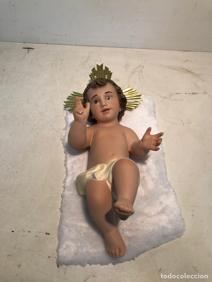 Figuras de Belén: FIGURA BELEN, MISTERIO DE ESTUCO SERIE 60/70 OLOT. MUY GRANDE. - Foto 34 - 274582438