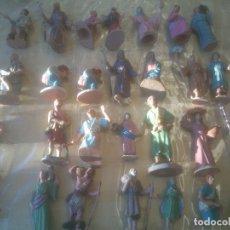Figuras de Belén: BELEN ANTIGUAS FIGURAS. EN PLÁSTICO.. Lote 275341208