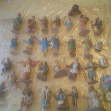 Figuras de Belén: BELEN ANTIGUAS FIGURAS. EN PLÁSTICO.. Lote 275341583