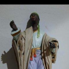 Figuras de Belén: FIGURA DE BELE ANTIGUA.CON MARCA.PAJE DE REY MAGO.. Lote 278508263