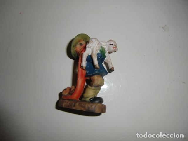 FIGURA DE BELEN FERRANDIZ (EN LA BASE) AÑOS 70 (Coleccionismo - Figuras de Belén)