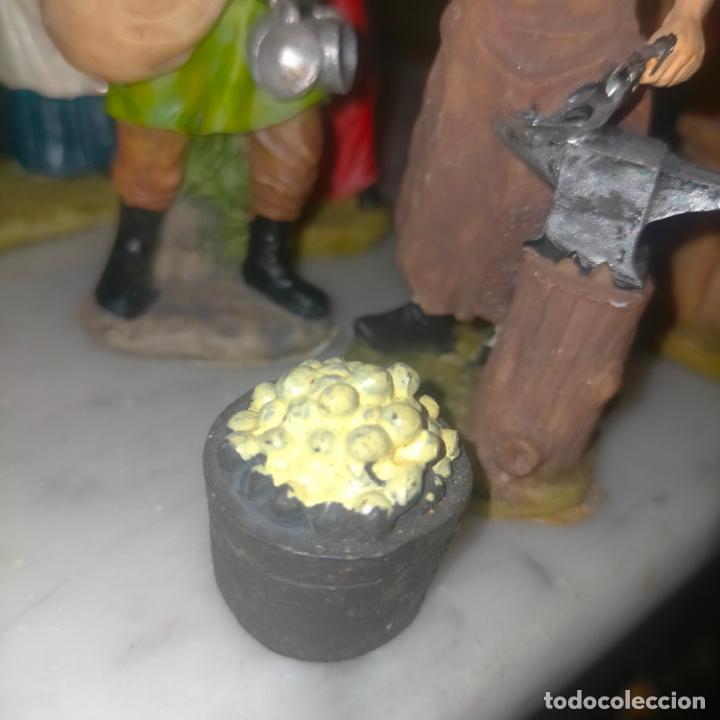 Figuras de Belén: figura portal de belen resina ver medida en foto muchas en pagina del mismo juego mismo titulo - Foto 2 - 278602623