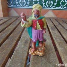 Figuras de Belén: FIGURA DE BELEN EN ESTUCO YESO O ESCAYOLA RETOCAR Y RESTAURAR OLOT ??. Lote 279454313