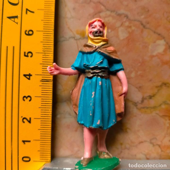 FIGURA DE PORTAL DE BELEN NACIMIENTO . PLASTICO DURO O PVC OFERTA POR LOTES - PERSONAJE (Coleccionismo - Figuras de Belén)