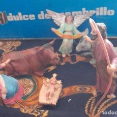 Figuras de Belén: FIGURAS BELEN NACIMIENTO DE PLASTICO BELEN 9,5 CM. Lote 288153113