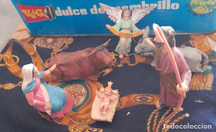 Figuras de Belén: FIGURAS BELEN NACIMIENTO DE PLASTICO BELEN 9,5 CM - Foto 2 - 288153113