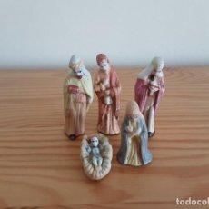 Figuras de Belén: FIGURAS DE BELÉN EN TERRACOTA. Lote 293229413