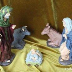 Figuras de Belén: NACIMIENTO, ART MAT, RESINA, FIGURAS GRANDES. Lote 293297253