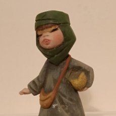 Figuras de Belén: FIGURA BELÉN DE BARRO MADE IN SPAIN. Lote 293332418