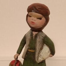 Figuras de Belén: FIGURA BELÉN DE BARRO MADE IN SPAIN. Lote 293332953
