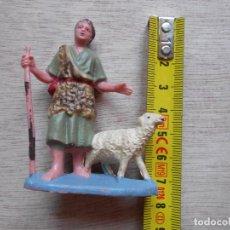 Figuras de Belén: FIGURA BELEN PASTOR. Lote 293718963