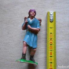 Figuras de Belén: FIGURA BELEN HOMBRE CON CESTO A LA ESPALDA. Lote 293720408