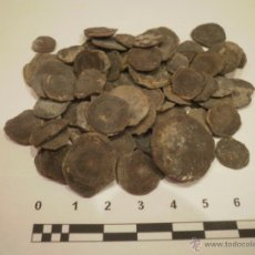 Coleccionismo de fósiles: LOTE DE 65 FORAMINÍFEROS FÓSILES. EDAD: EOCENO (LUTECIENSE). ASSILINA EXPONENS. Lote 52545743