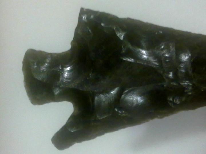 Coleccionismo de fósiles: PRECIOSA PUNTA DE FLECHA. - Foto 6 - 107861987
