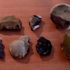 Coleccionismo de fósiles: ÚTILES SÍLEX PALEOLÍTICO / NEOLÍTICO. Lote 110516731