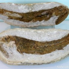 Coleccionismo de fósiles: PEZ FÓSIL,THARRIAS ARAPIPIS,CRETÁCEO,LONGITUD: 260 MM,NÓDULO COMPLETO,FACIES POSITIVA Y NEGATIVA. Lote 155359198