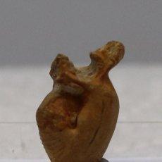 Coleccionismo de fósiles: FÓSIL MUY POCO FRECUENTE DE OECOPTYCHIUS REFRACTUS TRIANGULAR CON CHAPAS Y CASCO- - CALLOVIENSE. Lote 158883190