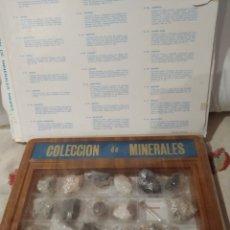 Coleccionismo de fósiles: COLECCIÓN MINERALES MINPEX DEL N.49 AL N.72. Lote 168572732