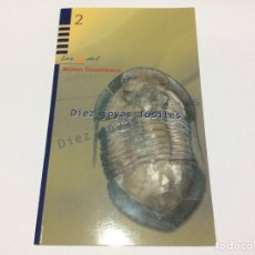 Coleccionismo de fósiles: DIEZ JOYAS FÓSILES. MUSEO GEOMINERO. GUÍA. LIBRO. Lote 175226114